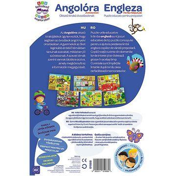Trefl: Kis felfedező oktató társas - Angolóra - . kép