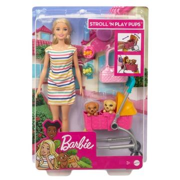 Barbie: Kölyök kutyus sétáltató játékszett - . kép