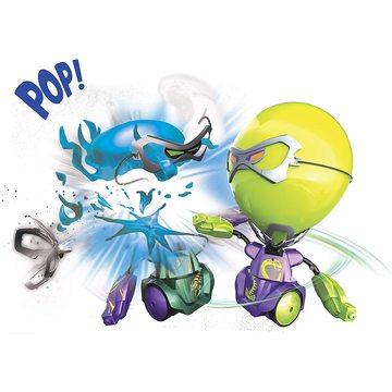 Boxeri cu cap balon - albastru-verde - .foto