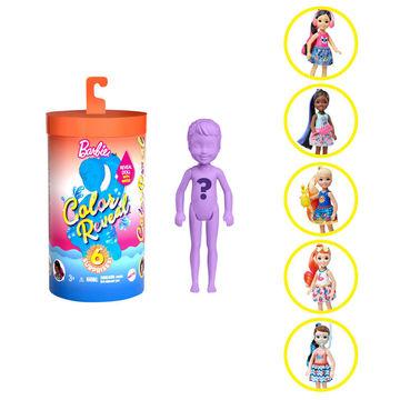Barbie: Color Reveal Chelsea Păpușă surpriză, seria 3 - diferite