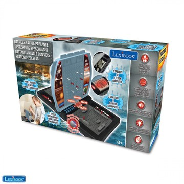 Lexibook: Battleship electronic - joc societate strategic pentru 1-2 jucători, în lb. maghiară - .foto