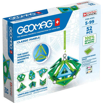 Geomag: Green Line Panels - 52 db-os