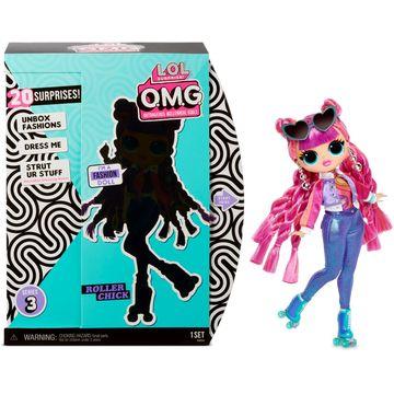 L.O.L. Surprise: OMG divatbaba 3. széria - Roller Chick - . kép