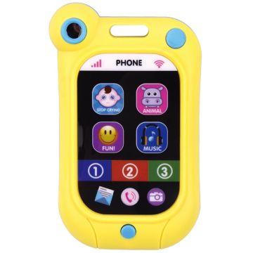 Telefon mobil pentru bebeluși cu lumini și sunete