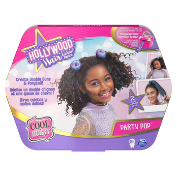 Cool Maker: Hollywood hajformázó készlet - lila