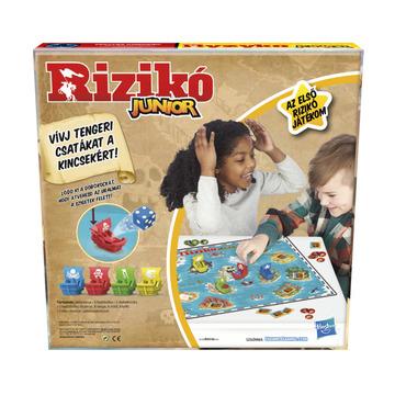 Hasbro: Rizikó Junior Társasjáték - . kép