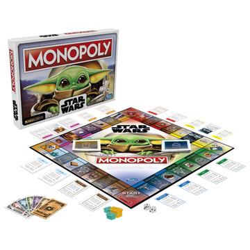 Monopoly: Baby Yoda társasjáték - . kép
