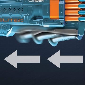 Nerf: Elite 2.0 Warden 8 játékfegyver 16 darab szivacslövedékkel - . kép