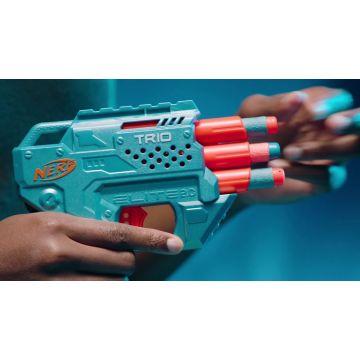 Nerf Elite 2.0: Trio Td-3 játékfegyver 6 darab szivacslövedékkel - . kép