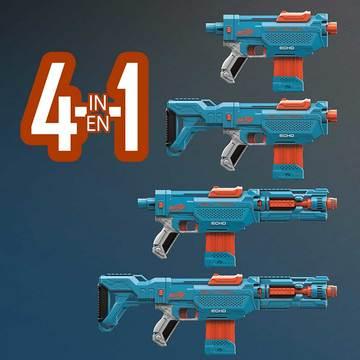Nerf: Elite 2.0 Echo-CS-10 játékfegyver 24 darab szivacslövedékkel - . kép