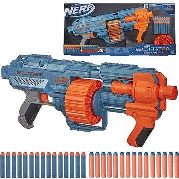 Nerf: Elite 2.0 Shockwave RD-15 játékfegyver 30 darab szivacslövedékkel