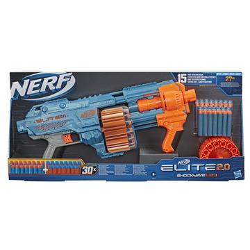 Nerf: Elite 2.0 Shockwave RD-15 játékfegyver 30 darab szivacslövedékkel - . kép