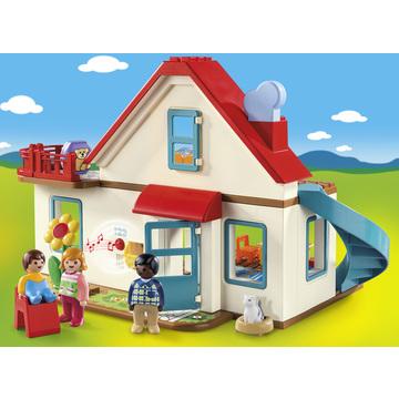 Playmobil 1.2.3: Családi otthon 70129 - . kép