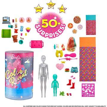 Barbie Color Reveal: Petrecere de pijama cu păpușile Barbie și Chelsea - .foto