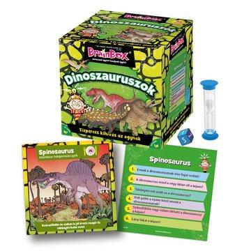BrainBox: Dinozaurii - joc de societate în lb. maghiară - .foto