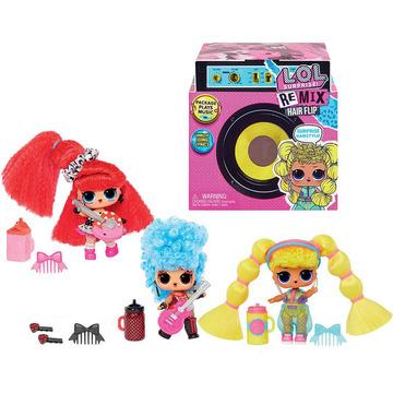 L.O.L Surprise: REMIX Hairflip meglepetés gyűjthető baba