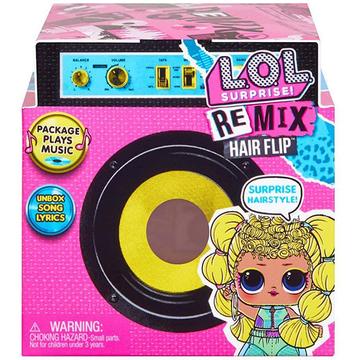 L.O.L Surprise: REMIX Hairflip meglepetés gyűjthető baba - . kép