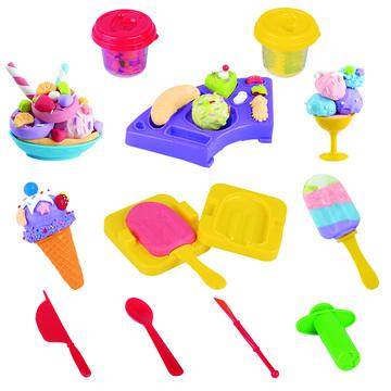 Set de plastilină - Creează înghețată - .foto