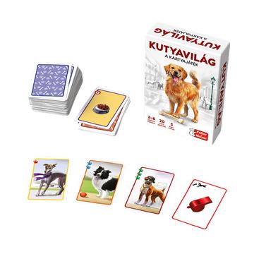 Lumea câinilor - joc de cărți în lb. maghiară - .foto