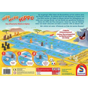 Hipp-Hopp-Hippo társasjáték - . kép