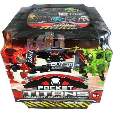 Pocket Titans: Zsebtitánok meglepetés figura 1. széria - . kép