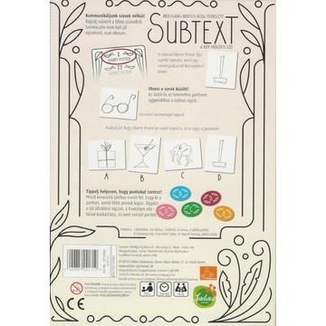 Subtext társasjáték - . kép