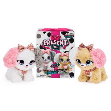 Present Pets: Interaktív meglepetés kutyus - rózsaszín