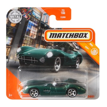 Matchbox MBX City: 1956 Aston MArtin DBR1 kisautó