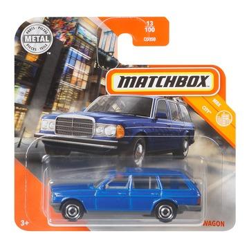 Matchbox: MBX City Mercedes-Benz S123 Wagon kisautó - kék