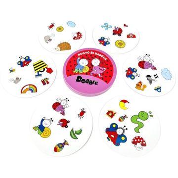 Dobble: Bogyó și Babóca - joc de cărţi cu instrucţiuni în lb. maghiară - .foto