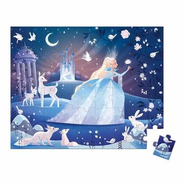 Janod: Lumea înghețată - puzzle cu 54 piese - .foto