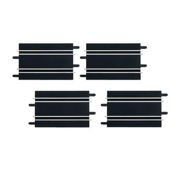 Carrera: Egyenes pályaelemek GO/GO+/D143 autópályákhoz - 170 mm, 4 darabos