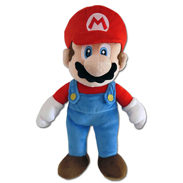 Nintendo Super Mario: Mario plüssfigura - 24 cm - . kép