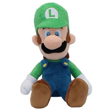 Nintendo Super Mario: Luigi plüssfigura - 24 cm