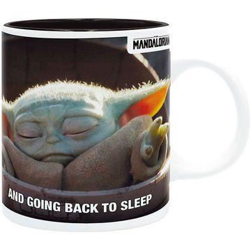 Star Wars Mandalorian: Cană Baby Yoda meme - 320 ml