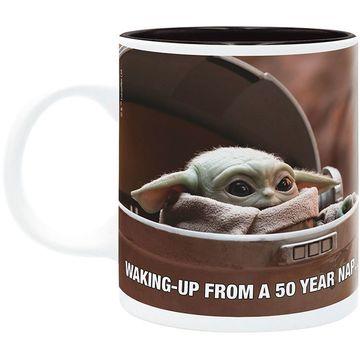 Star Wars Mandalorian: Cană Baby Yoda meme - 320 ml - .foto