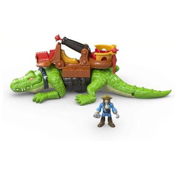Imaginext: sétáló krokodil és Hook kapitány - . kép
