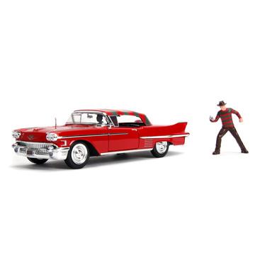 Hollywood Series: Freddy Krueger & 1958 Cadillac Series 62 - . kép
