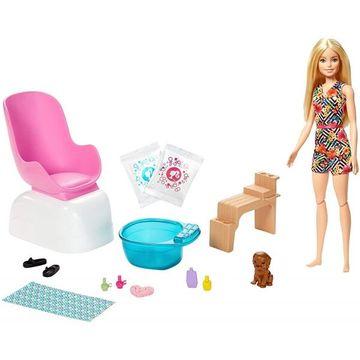 Barbie feltöltödés - Körömstúdió játékszett - CSOMAGOLÁSSÉRÜLT