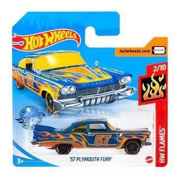 Hot Wheels: 57 Plymouth Fury kisautó - kék