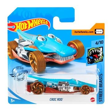 Hot Wheels: Croc Rod kisautó - világoskék