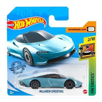 Hot Wheels: Mașinuță McLaren Speedtail - albastru deschis