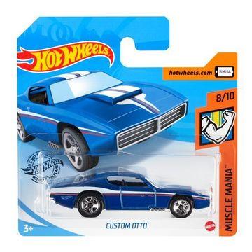 Hot Wheels: Custom Otto kisautó - kék