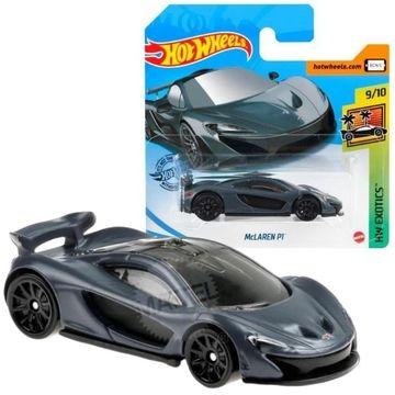 Hot Wheels: Mașinuță McLaren P1 - gri închis