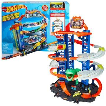 Hot Wheels: T-rex Ultimate garázs