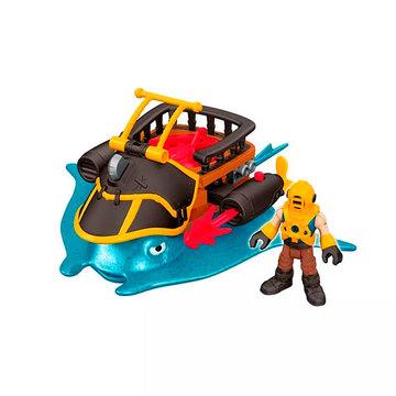 Imaginext: Kalózos játékszett - Mega cápa ágyúval - . kép