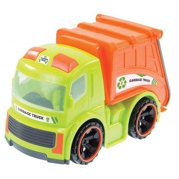 Kukásautó - zöld-narancs, 37 cm