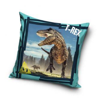 T-Rex Husă de pernă - 40 x 40 cm