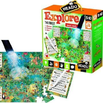 Headu: Fedezd fel az erdőt - mágikus lámpával