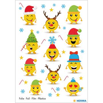 Herma: Smiley karácsonyi matrica - . kép